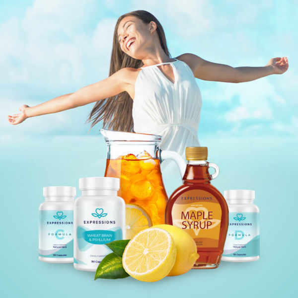 Expressions 3 day Gut Cleanse Detox Kit