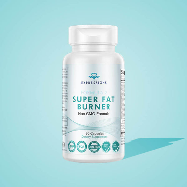 Formula 2 Fat Burner Product Illustation